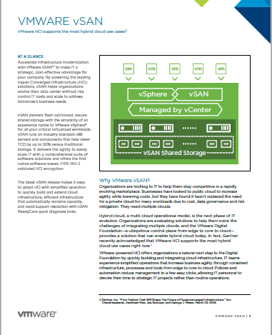 VMware HCI supports the most hybrid cloud use cases.pdf