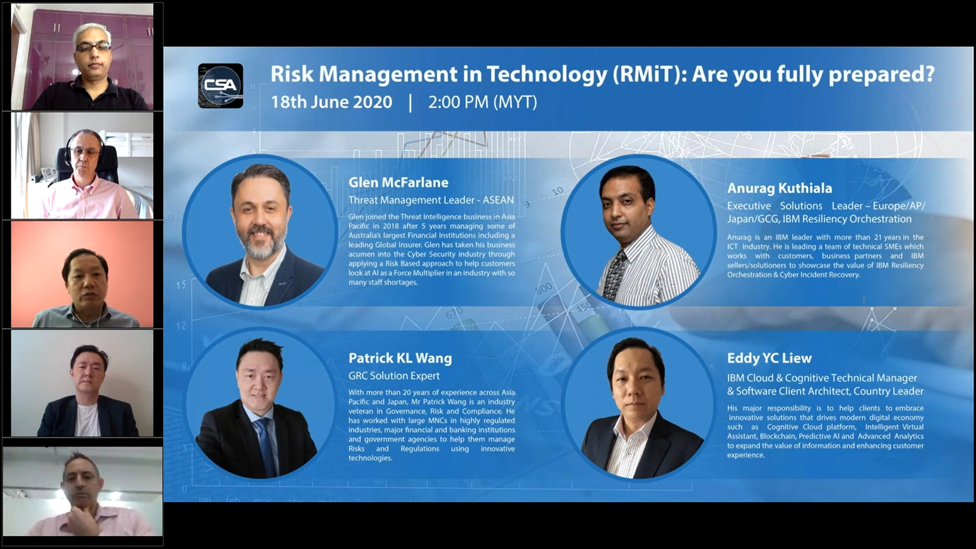 IBM RMiT Webinar - Are You Fully Prepared? - Attended.