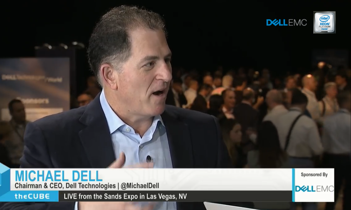 Michael Dell, Dell Technologies| Dell Technologies World 2018-2.