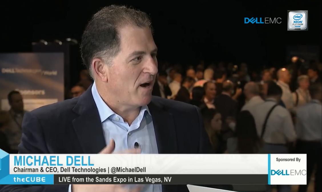 Michael Dell, Dell Technologies| Dell Technologies World 2018-2.