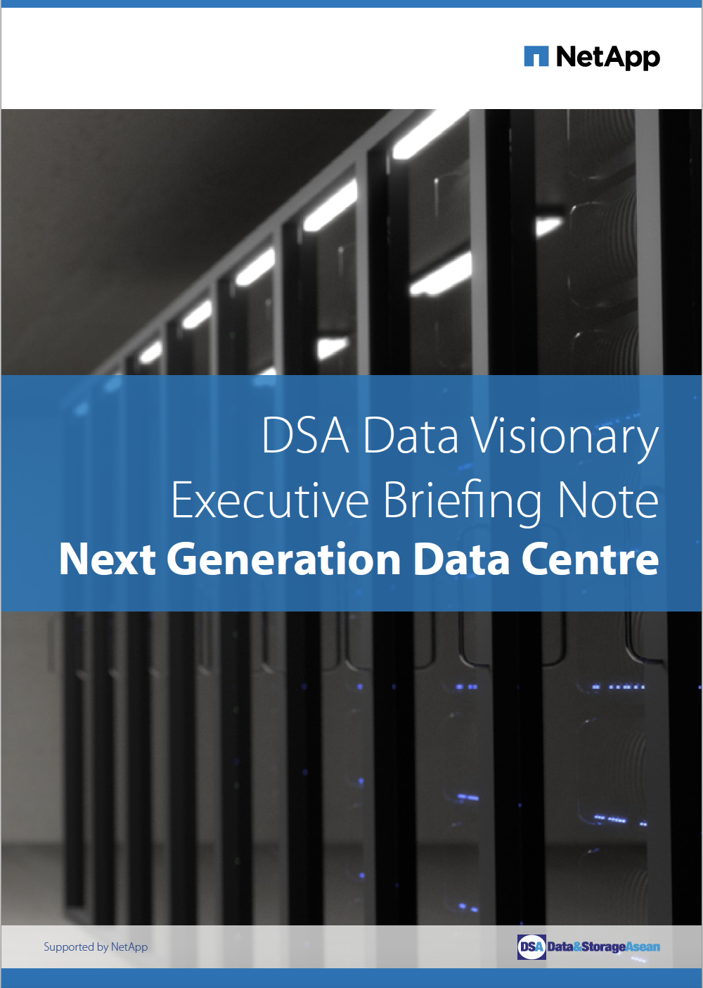 DSA Data Visionary Executive Briefing Note - Next Generation Centre.pdf