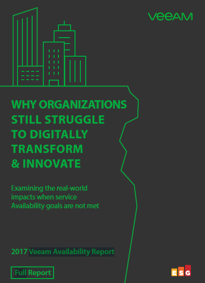 2017 Veeam Availability Report: Why Organizations Still Struggle To Digitally Transform & Innovate.pdf