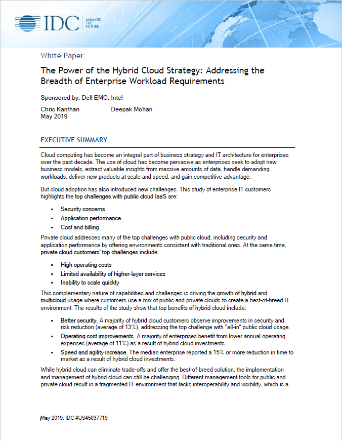 The Power of the Hybrid Cloud Strategy: Addressing the Breadth of Enterprise Workload Requirements - IND.pdf