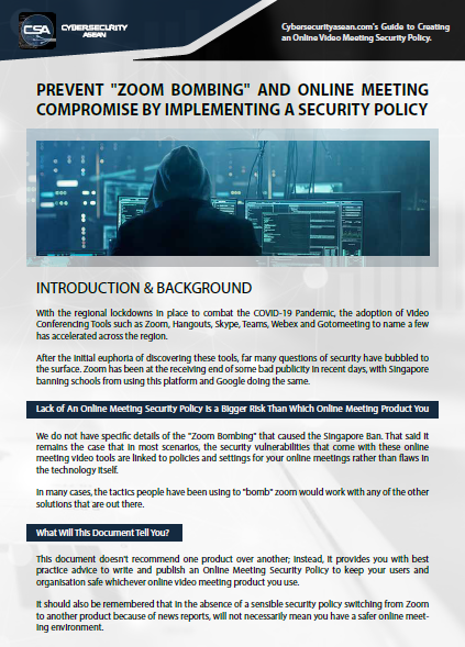 Cybersecurity Asean Guide to Creating a Security Policy For Online Video Meetings.pdf