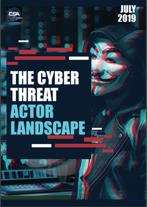 July Special Focus - The Cyber Threat Actor Landscape.pdf