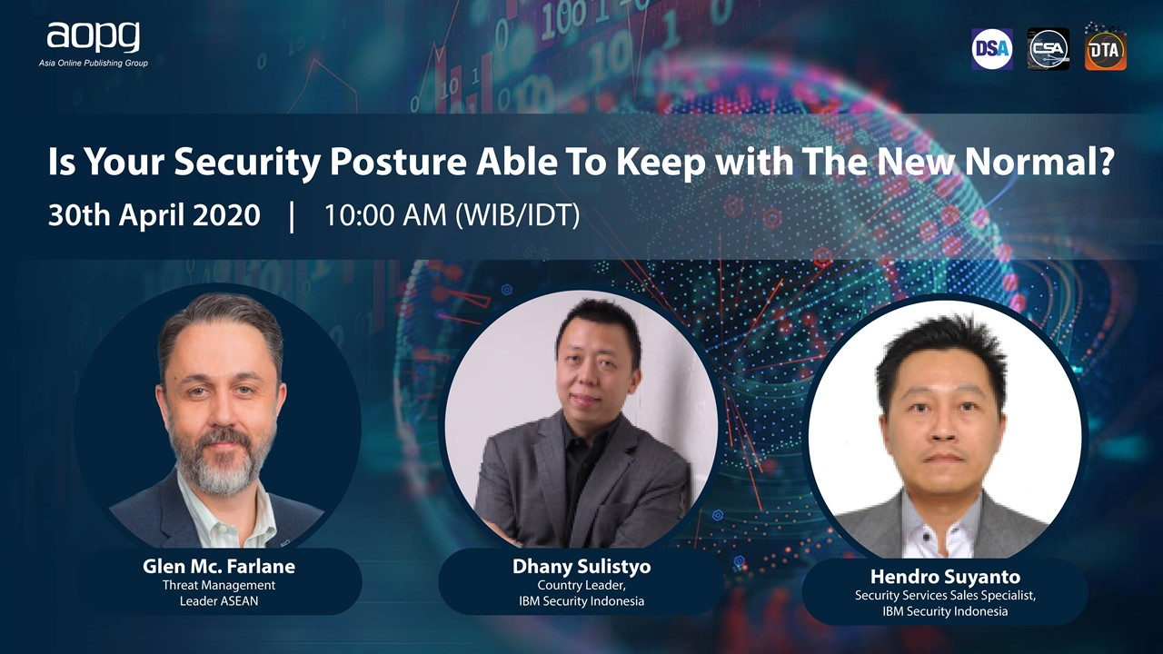 IBM Security Q2 - Virtual Panel Indonesia - Attended.