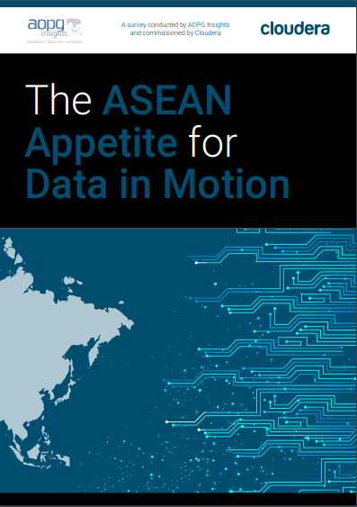 The ASEAN Appetite for Data in Motion Survey Report commissioned by Cloudera .pdf