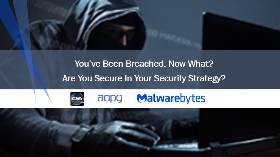 Webinar:You Got Breached.Now What? Are You Secure in Your Security Strategy?.