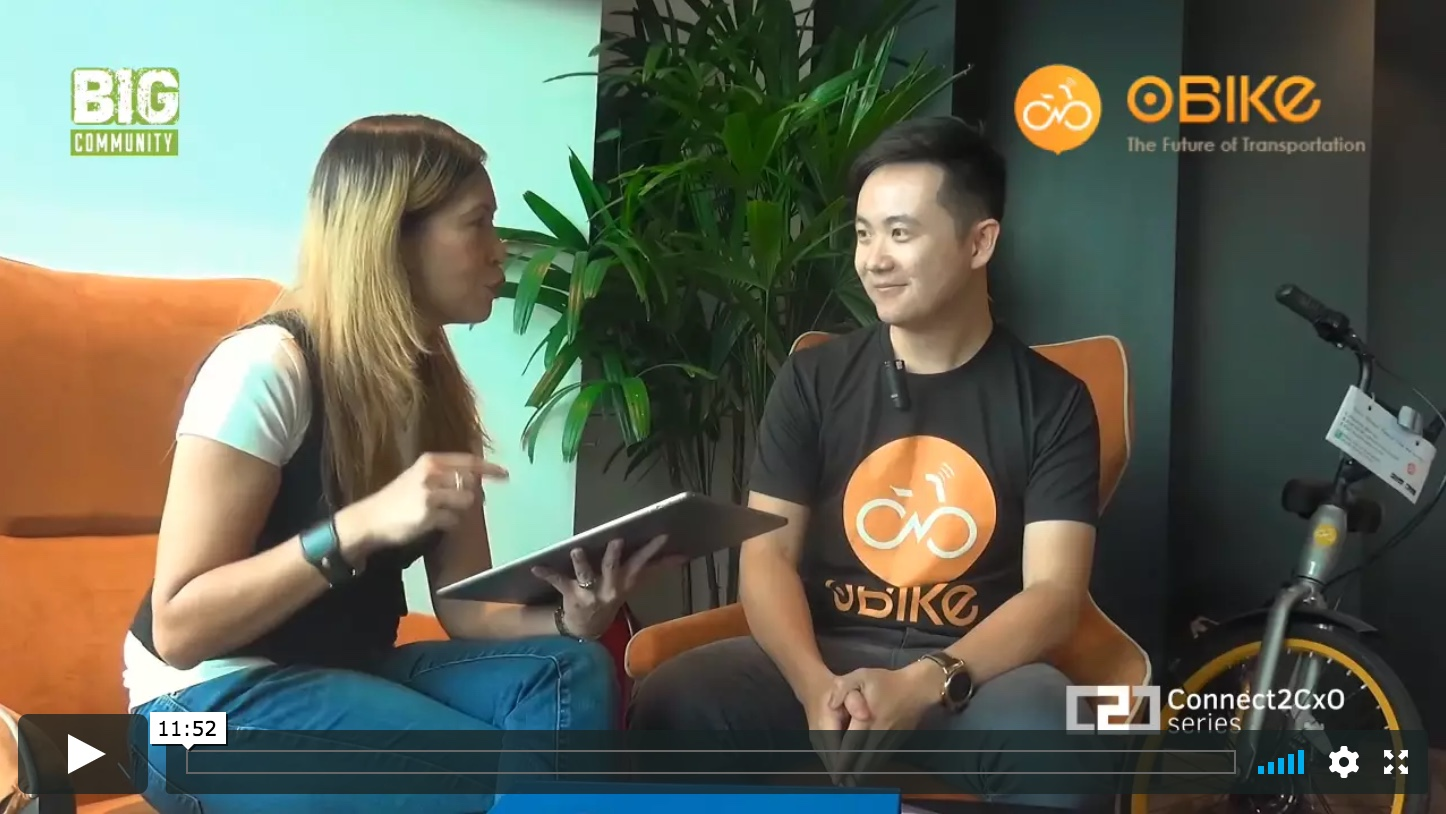 C2C Interview With Obike.