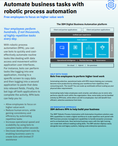 Automate business tasks with robotic process automation.pdf