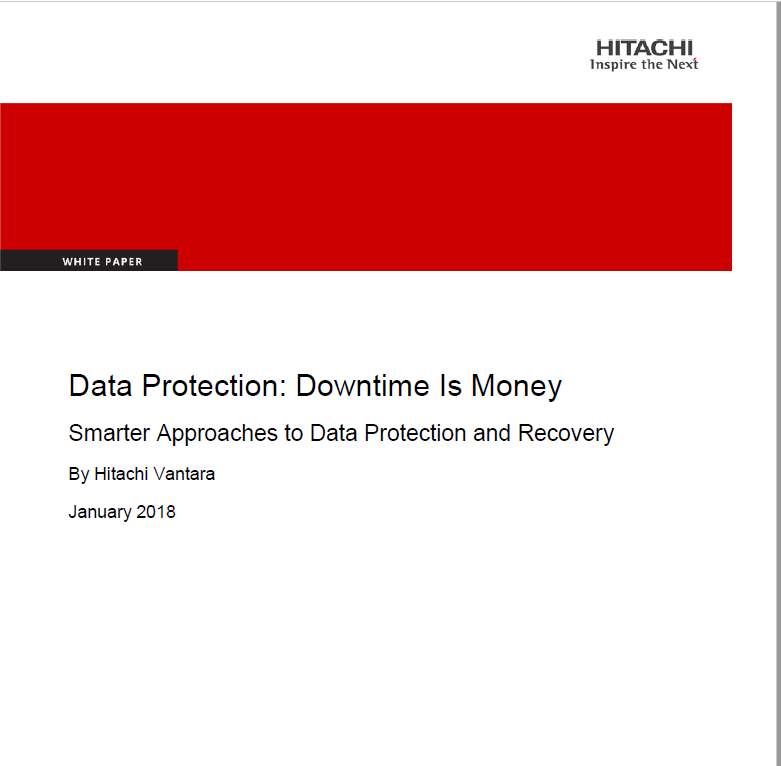 Data Protection: Downtime is money.pdf