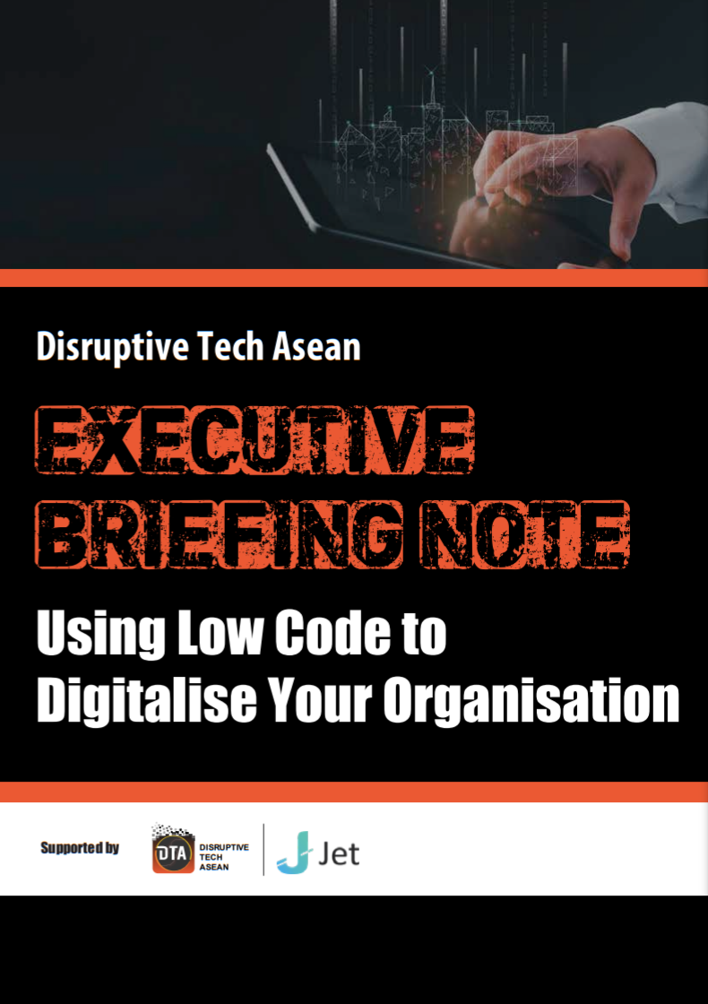 DTA's Executive Briefing Note on Using Low Code to Digitalise Your Organisation.pdf