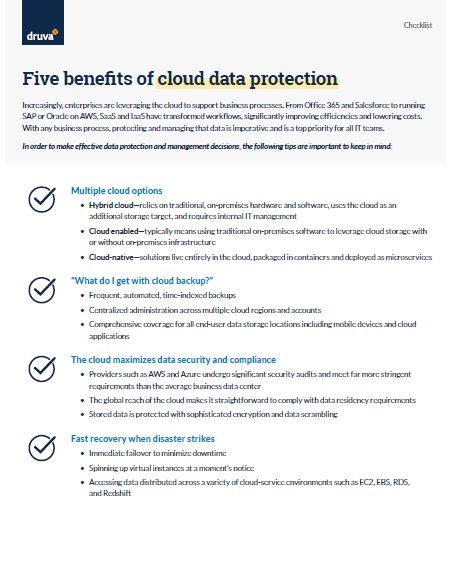 Five benefits of Cloud Data Protection.PDF