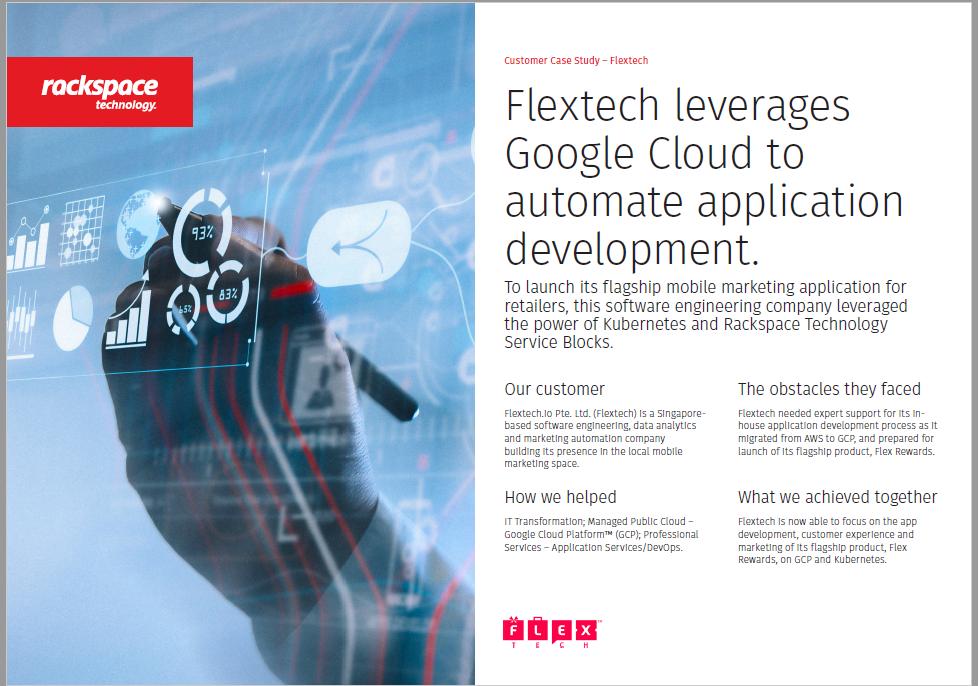 Flextech leverages Google Cloud to automate application development..pdf