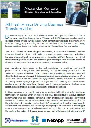 All Flash Arrays Driving Business Transformation.pdf