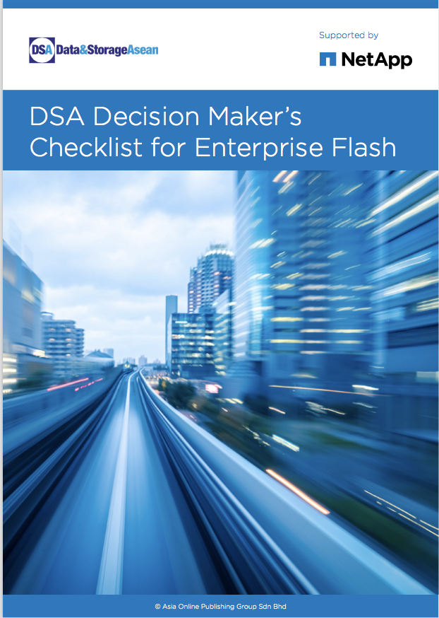 DSA Decision Maker's Checklist for Enterprise Flash supported by Netapp.pdf