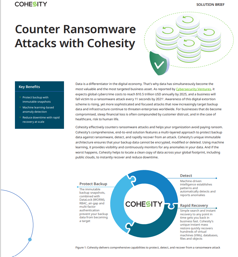 Counter Ransomware Attacks with Cohesity on CSA.pdf