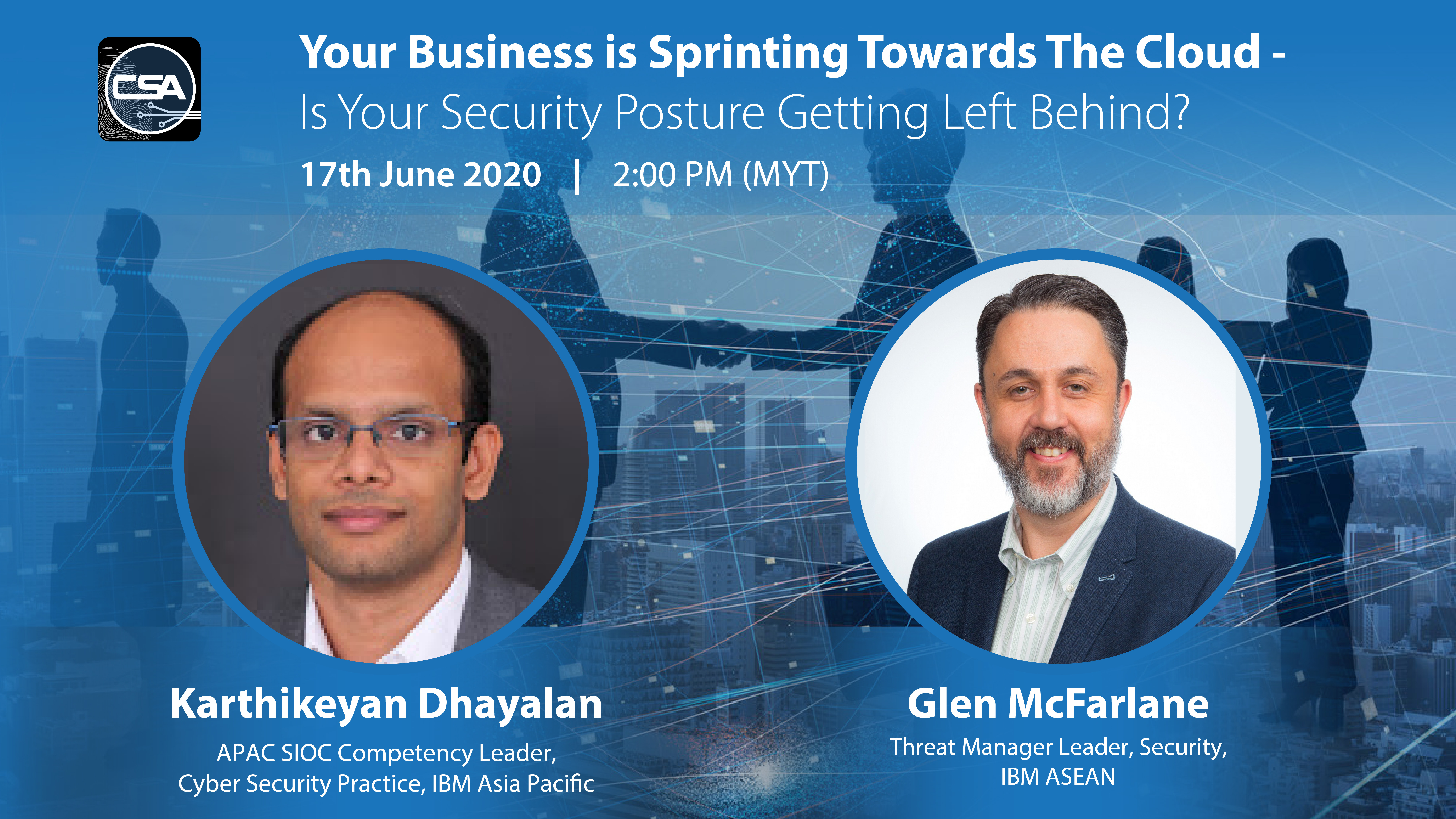 Your Business is Sprinting Towards The Cloud -  Is Your Security Posture Getting Left Behind (ASEAN) - Registration.