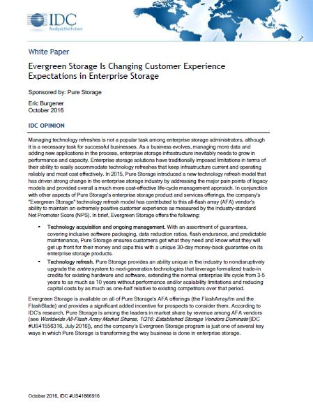 Evergreen Storage is Changing Customer Experience Expectation in Enterprise Storage.pdf