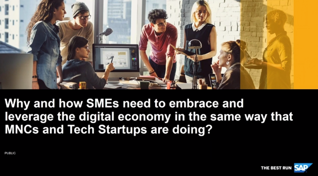 Webinar: Why Every Business Must Use Their Data to Leverage The Digital Economy.