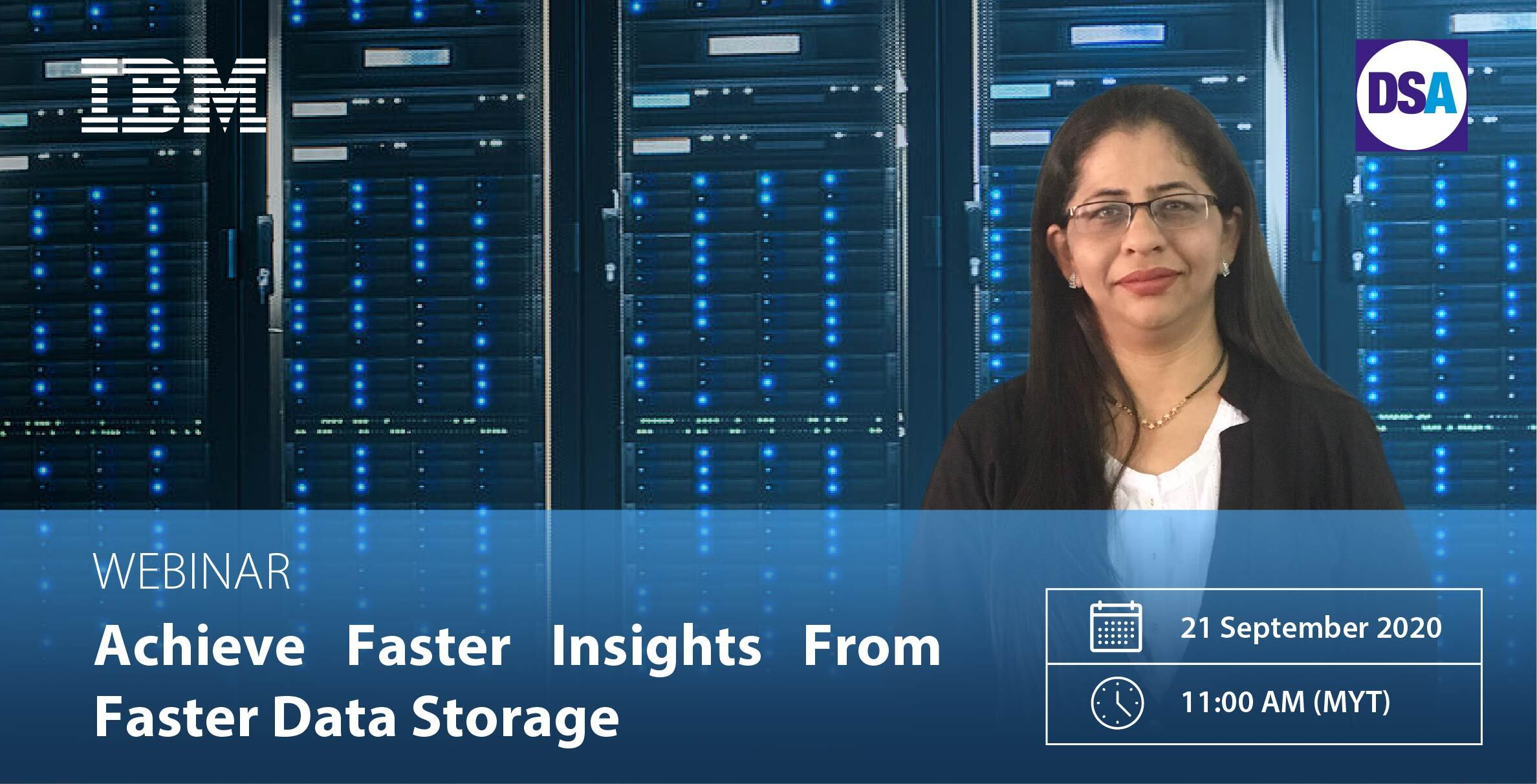 ATTND IBM Webinar 2: Achieve Faster Insights From Faster Data Storage.