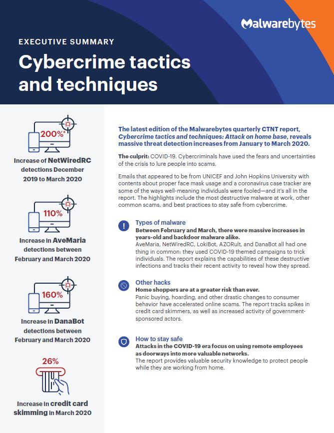 Malwarebytes Q2 Report - Cybercrime Tactics and Techniques.pdf