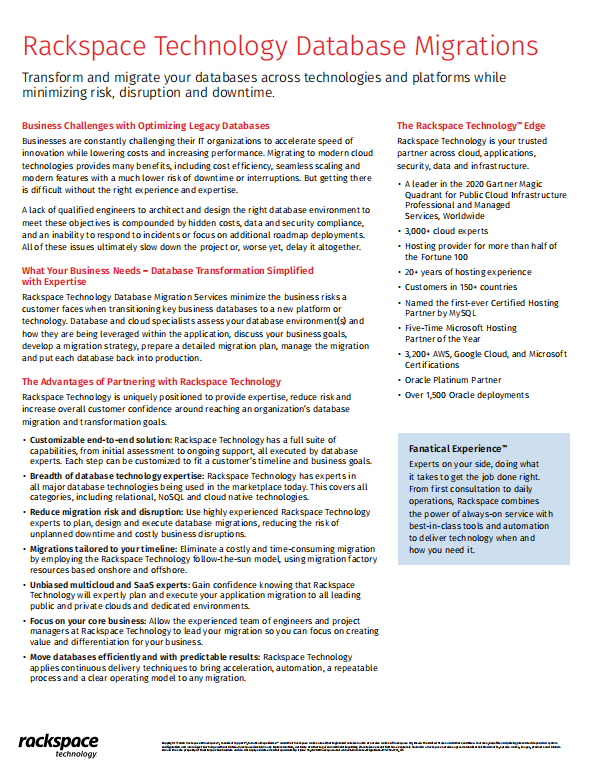 Rackspace Technology Database Migrations.pdf