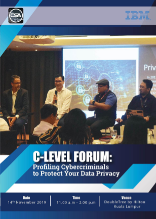 C-Level Forum : Profiling Cybercriminals To Protect Your Data Privacy Event Summary E-book.pdf