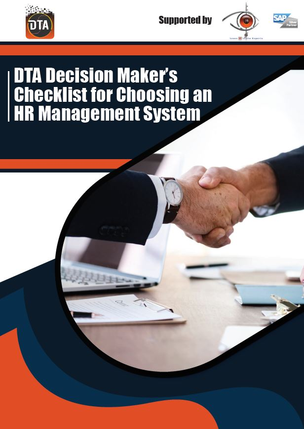DTA Decision Maker's Checklist for Choosing an HR Management System supported by Osiris. .pdf
