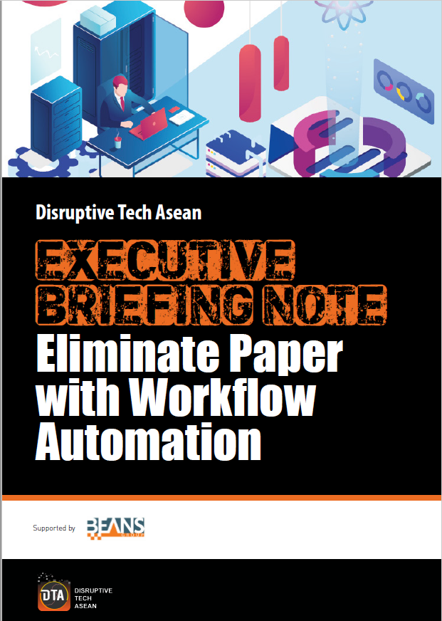 DTA Executive Briefing Note Eliminate Paper with Workflow Automation Supported by Beans Group.pdf