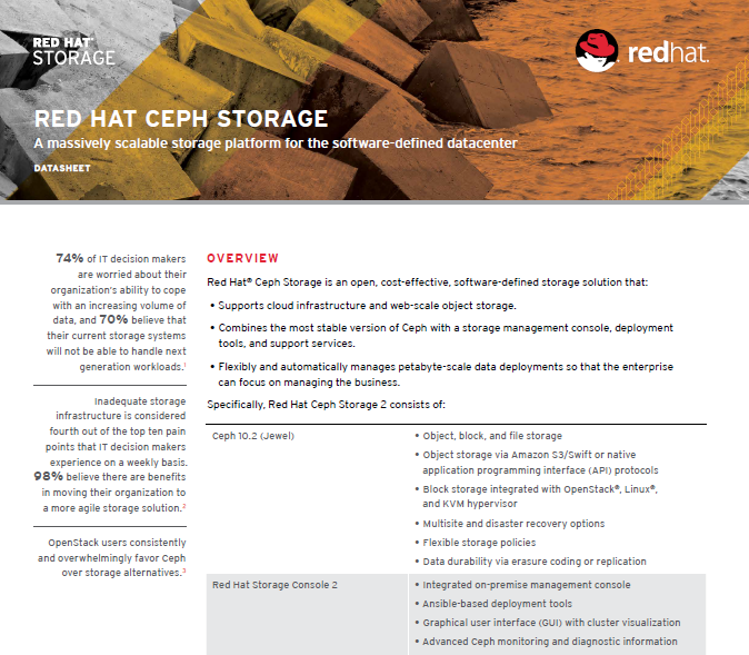 Red Hat Ceph Storage: A massively scalable storage platform for the software-defined datacenter.pdf