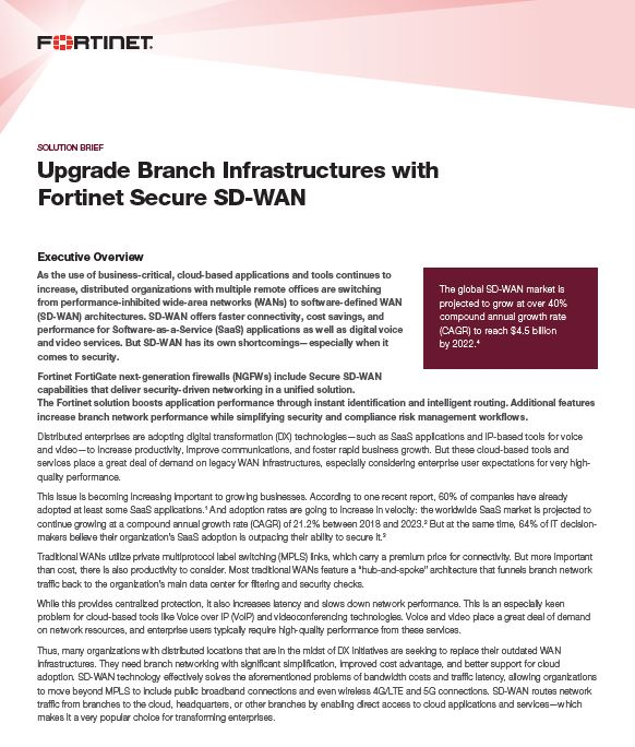 Upgrade Branch Infrastructures with Fortinet Secure SD-WAN.pdf